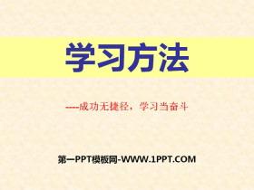 《学习方法》PPT