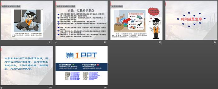 《地震安全知识普及》PPT