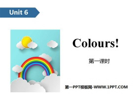 《Colours》PPT(第一课时)