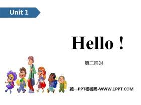 《Hello!》PPT(第二课时)