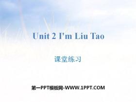 《I'm Liu Tao》�n堂��PPT