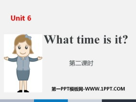 《What time is it?》PPT(第二�n�r)