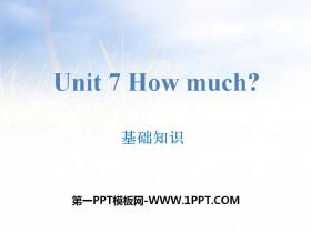 《How much?》基�A知�RPPT
