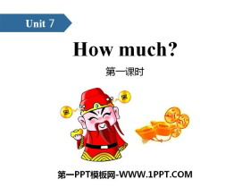 《How much?》PPT(第一课时)