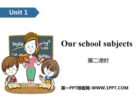 《Our school subjects》PPT(第二课时)