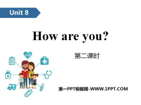 《How are you?》PPT(第二�n�r)