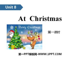 《At Christmas》PPT(第一课时)