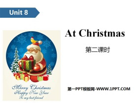 《At Christmas》PPT(第二课时)