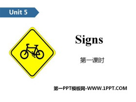 《Signs》PPT(第一�n�r)
