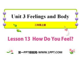 《How Do You Feel?》Feelings and Body PPT课件