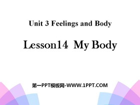 《My Body》Feelings and Body PPT