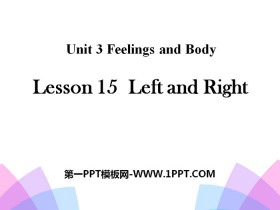 《Left and Right》Feelings and Body PPT
