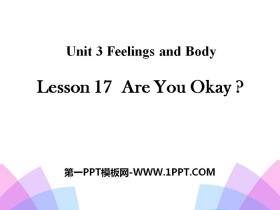 《Are You Okay?》Feelings and Body PPT