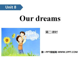 《Our dreams》PPT(第二课时)