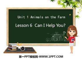 《Can I Help You?》Animals on the Farm PPT
