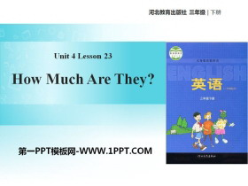 《How much are they?》Food and Restaurants PPT�n件