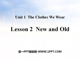 《New and Old》The Clothes We Wear PPT课件