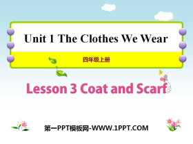《Coat and Scarf》The Clothes We Wear PPT教学课件