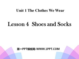 《Shoes and Socks》The Clothes We Wear PPT