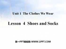 《Shoes and Socks》The Clothes We Wear PPT教学课件