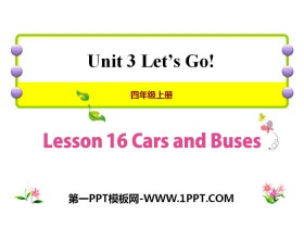 《Cars and Buses》Let's Go! PPT课件