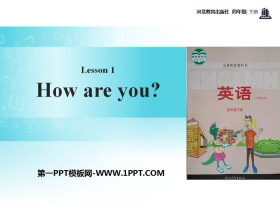 《How are you?》Hello Again! PPT课件