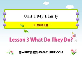 《What Do They Do?》My Family PPT教学课件
