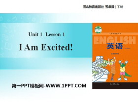 《I Am Excited!》Going to Beijing PPT教学课件