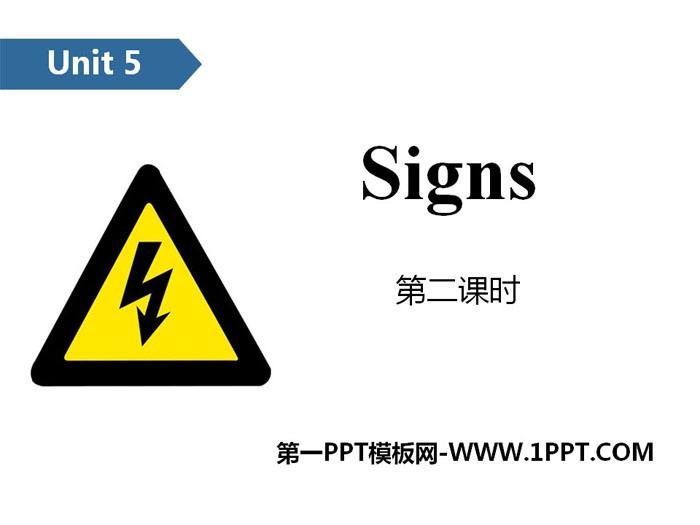 《Signs》PPT(第二课时)
