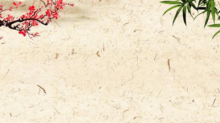 五张古典水墨中国风PPT背景图片