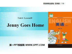 《Jenny Goes Home》Did You Have a Nice Trip? PPT教学课件
