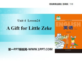 《A Gift for Little Zeke》Did You Have a Nice Trip? PPT教学课件