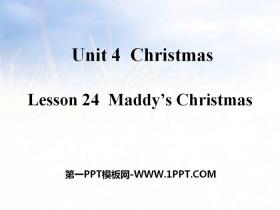 《Maddy's Christmas》Christmas PPT