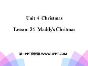 《Maddy's Christmas》Christmas PPT课件