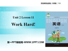 《Work Hard!》Good Health to You! PPT教学课件