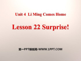 《Surprise!》Li Ming Comes Home PPT