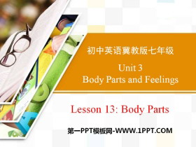 《Body Parts》Body Parts and Feelings PPT课件