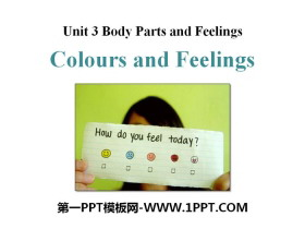 《Colours and Feelings》Body Parts and Feelings PPT