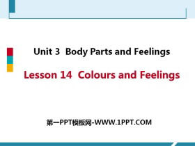 《Colours and Feelings》Body Parts and Feelings PPT免费课件