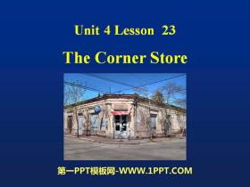 《The Corner Store》Food and Restaurants PPT课件