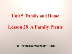《A Family Picnic》Family and Home PPT课件
