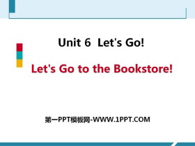 《Let's Go to the Bookstore!》Let's Go! PPT课件下载