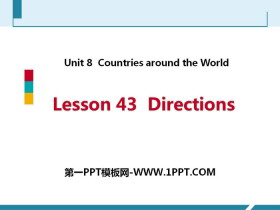 《Directions》Countries around the World PPT教学课件