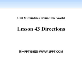 《Directions》Countries around the World PPT课件下载