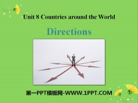 《Directions》Countries around the World PPT免费课件