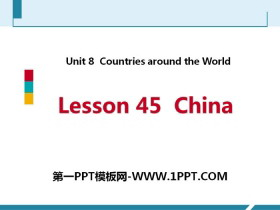 《China》Countries around the World PPT课件下载