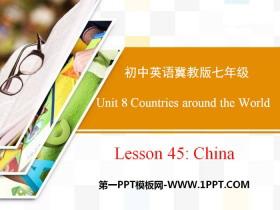 《China》Countries around the World PPT