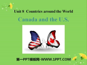《Canada and the U.S.》Countries around the World PPT免费课件