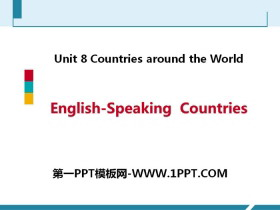 《English-Speaking Countries》Countries around the World PPT教�W�n件