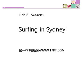 《Surfing in Sydney》Seasons PPT下载